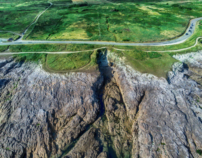 Drone photography by Manfred Baumann