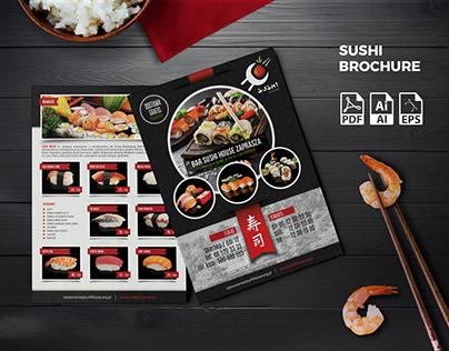 Sushi Brochure