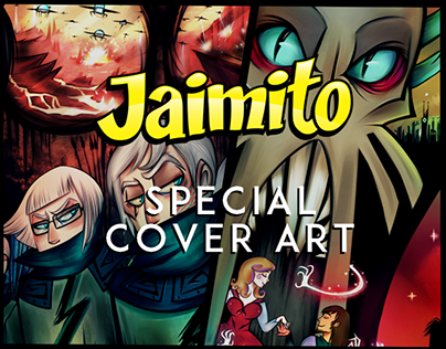 Jaimito Issue #36 Cover Art | Issue# 35 illustration