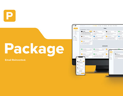 Package Email Application Design