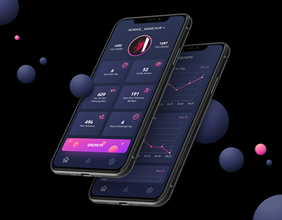 InstaTracker - mobile app
