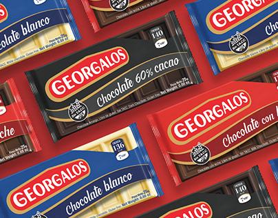 Chocolates Georgalos. Renovación de un clásico.