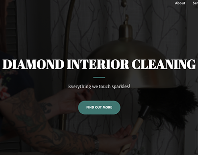 Diamond Interior Cleaning - Website Redesign