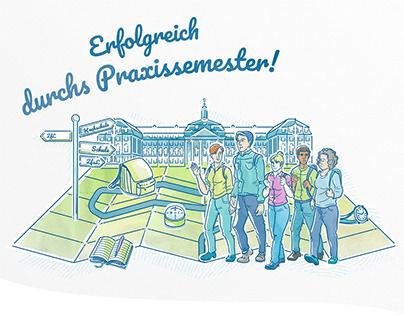 ZfsL Münster: Erfolgreich druchs Praxissemester