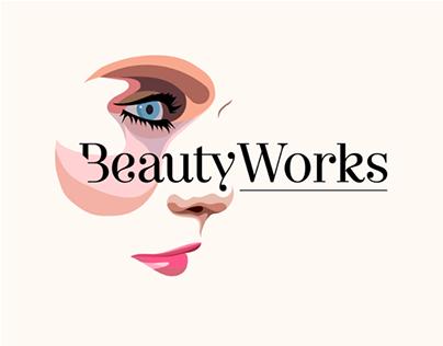 BeautyWorks • Beautician Brand identity