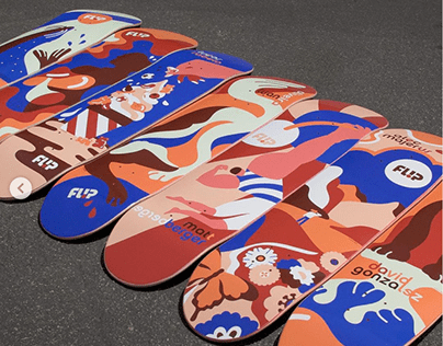 Flip Skateboards X Kaja Series