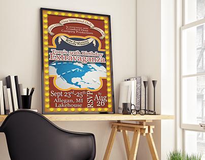 Invitation Poster Design