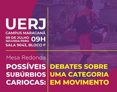 UERJ - Possíveis Subúrbios Cariocas (Evento)