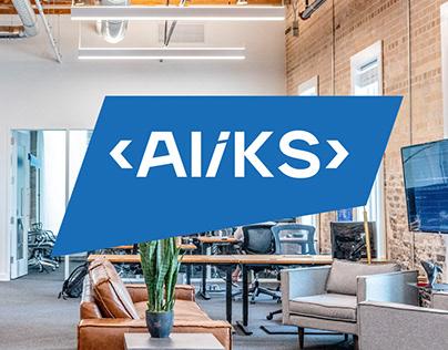 ALiKS IT corporate identity rebranding