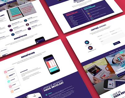 Hada Escolar - Branding & Diseño web