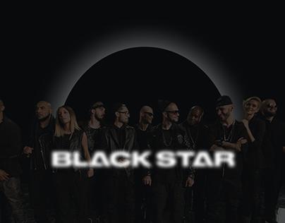 Redesign concept Black star site
