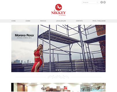 Layout - Site Nikkey Formosa