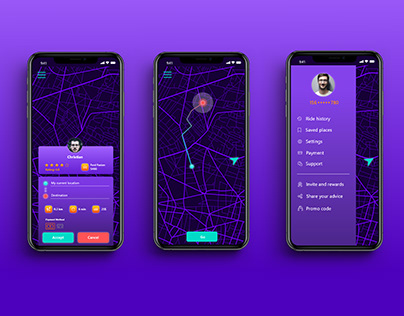 Taxi App UI/UX