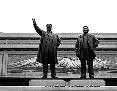 September 2017, Pyongyang, North Korea. Useful Idiocy.
