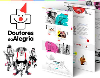 Doutores da Alegria - Site