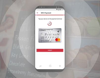Societe Generale - Contactless Payment Wallet