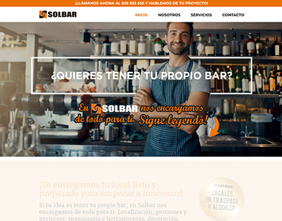 The Webmaster | Solbar