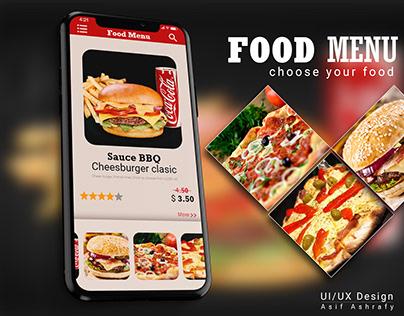 Restaurant Food Menu UI Design