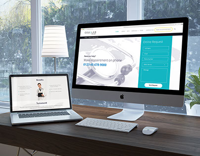 CodeLAB website Design