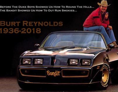 Burt Reynolds Social Media Tribute Graphic