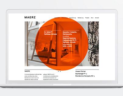 MAERZ — Branding