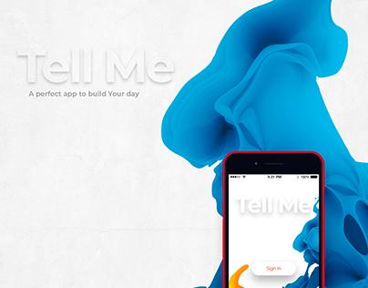 Tell Me - Organizer App