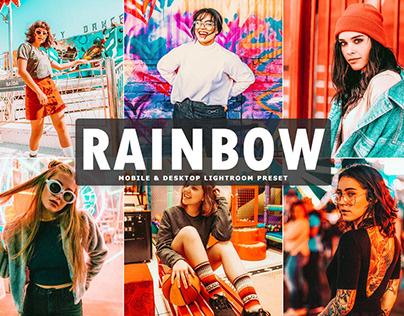 Free Rainbow Mobile & Desktop Lightroom Preset