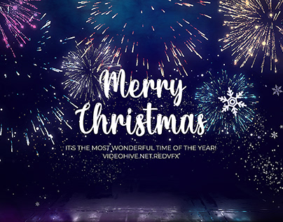 Christmas Greeting (After Effects Template)