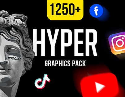 Hyper Graphics Pack | AE, Premiere, FCPX template