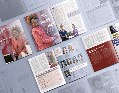 Insights Magazine Cover & Spreads