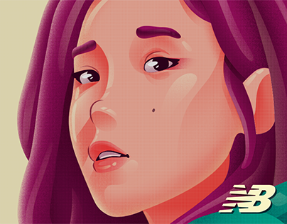 New Balance x K-Pop Illustration Collab