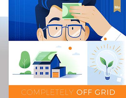 Screems - money-saving energy solutions |BluBlu Studios