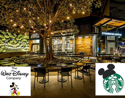 THE WALT DISNEY CO STARBUCKS
