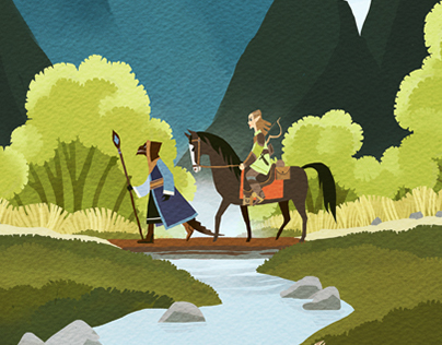 Fanart: the Elder Scrolls Online inspired