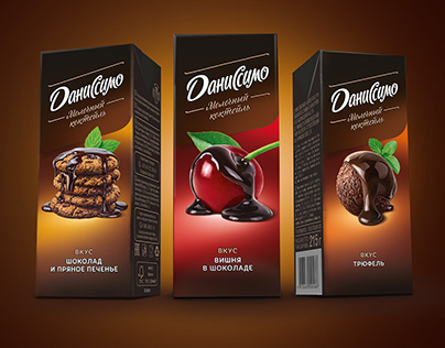 The taste is on stage: redesign of Danissimo milkshakes