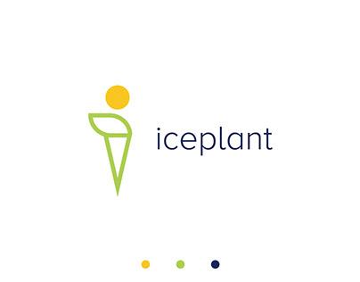Food Logo Design-ICEPLANT