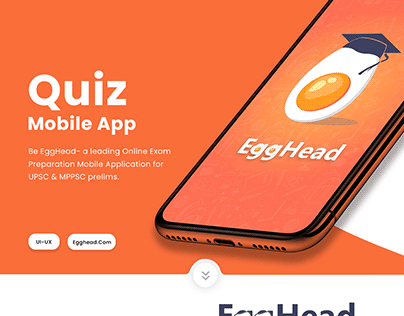 Be EggHead : Exam Preparation App for UPSC & MPPSC