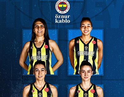 Fenerbahçe Öznur Kablo's Turkish National Team Players