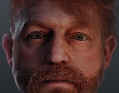 Character Desing - Paul Crimson