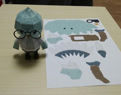 Hogugu_Art_Toy (paper toy_V01)