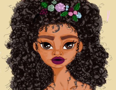 Bilberry girl