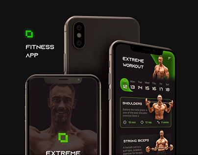 Fitness App For Men - UX/UI Design