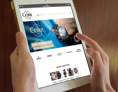 Corr Vintage watches BRAND ID & E-commerce