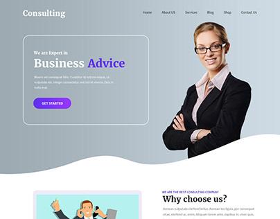Free Finance Advisor WordPress Theme