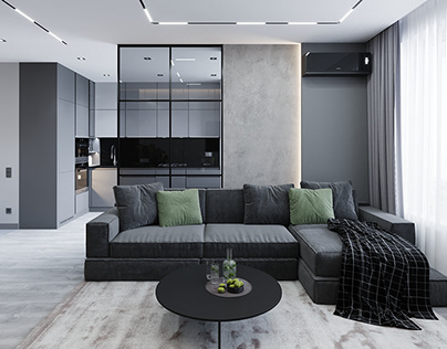 Grey&Green Apartment