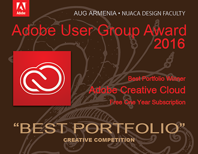 AUG Armenia Award 2016- Best Portfolio
