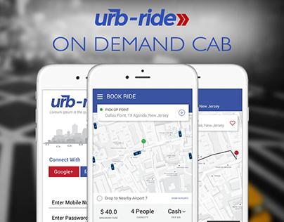 Urb Ride-On Demand Cab (Taxi Aggregator)