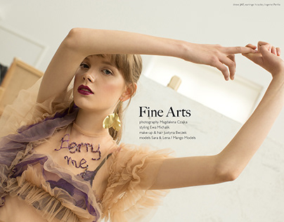 Fine Arts for Flanelle Magazine