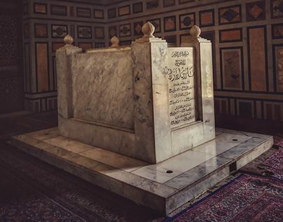 The tomb of King Farouk I