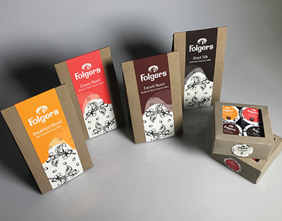 Folgers Ground Coffee Redesign. 04.22.17.